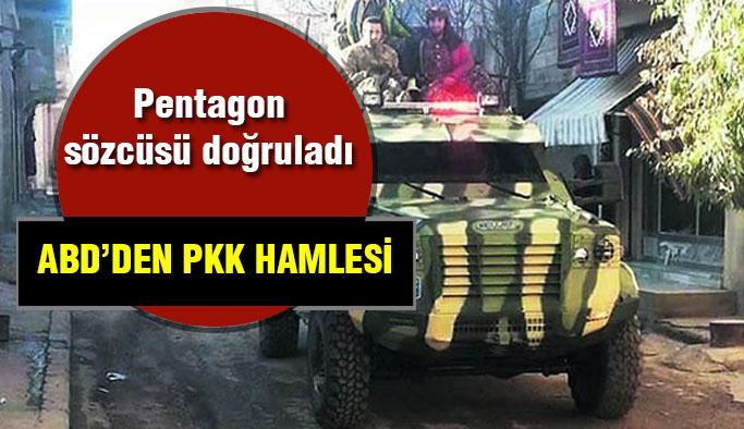 ABD'den PYD'ye Zırhlı Araç