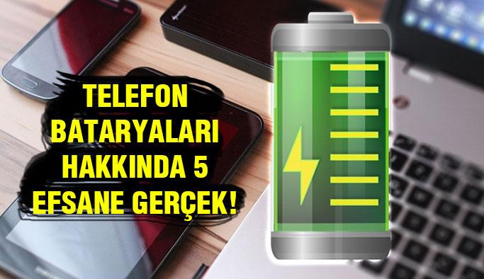 Akıllı Telefon Bataryalarının İnanılmaz Gerçekleri