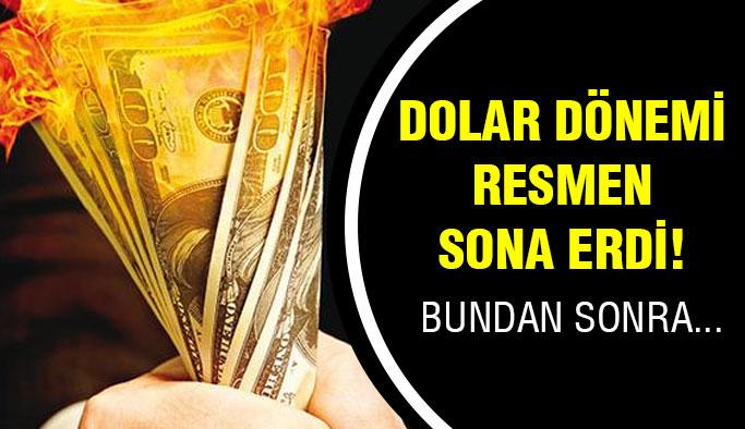 Artık Dolarla Tartı Bitti!