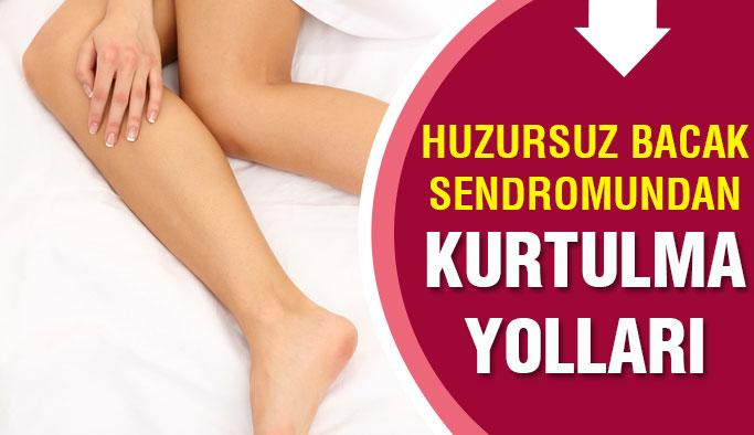 Bacaklarını Sürekli Sallayanlar Dikkat!Huzursuz Bacak Sendromu...