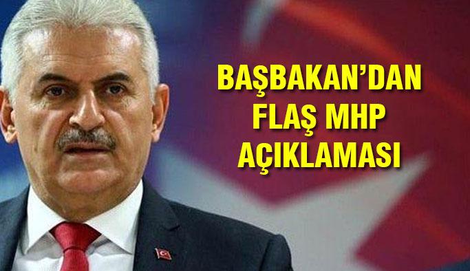 Başbakan'dan MHP Açıklaması!