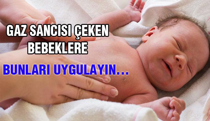 Bebeklerde Gaz Sancısını Önlemek İçin...