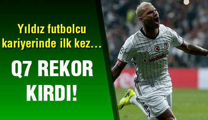 Beşiktaş'lı Quaresma rekor kırdı!