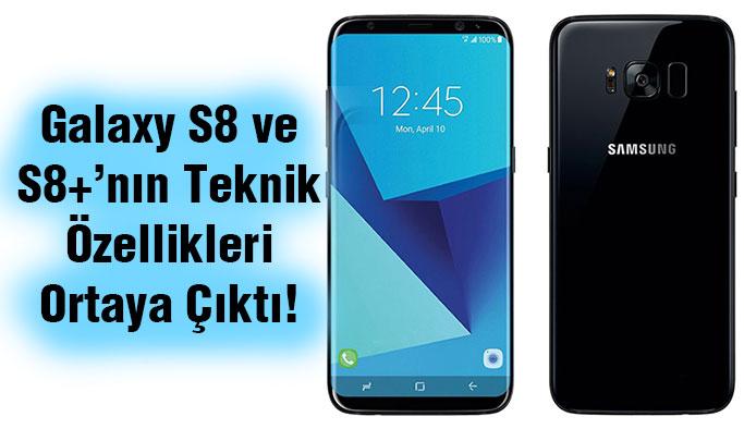 Galaxy S8ne Galaxy  S8+'nın Özelliklerini Duydunuz Mu?