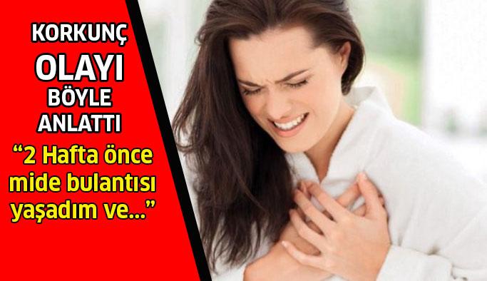 Kalp krizi geçiren kadınlar yaşadıklarını anlattılar