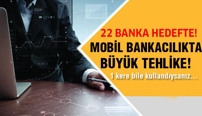 Mobil Bankacılığı Tercih Edenler Tehlikede