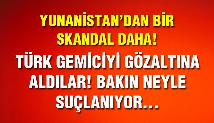 Türk Gemici Yunanistan'da O Suçla Yargılanıyor...