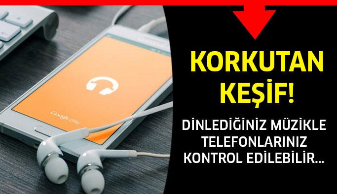 Dinlediğiniz müzikle telefonlarınız kontrol edilebilir...
