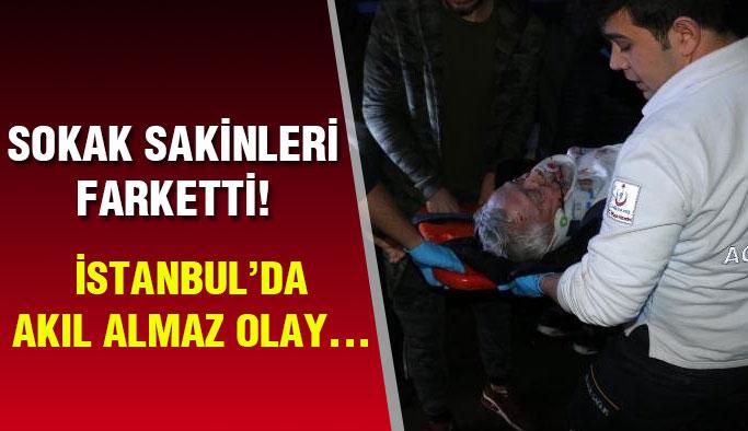 İstanbul'da Akıl Almaz Olay! Vatandaş Panikledi