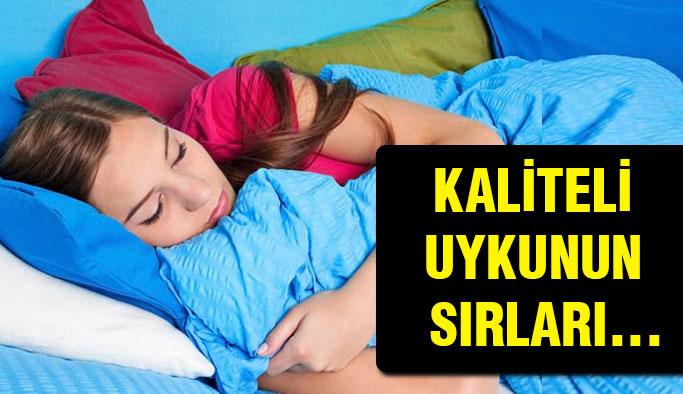 Kaliteli bir uyku için...