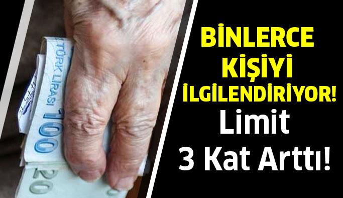 Limit 3 Kat Arttı!