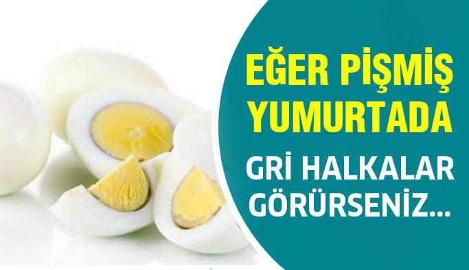 Pişmiş Yumurta da Gri Halkalar Mı Görüyorsunuz?