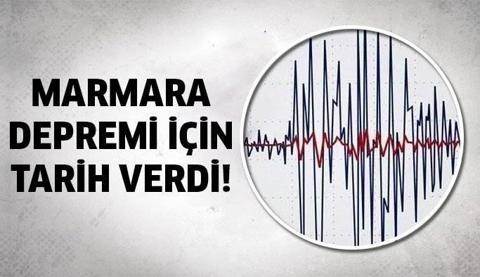 Profesör Marmara Depremi İçin Tarih Verdi!