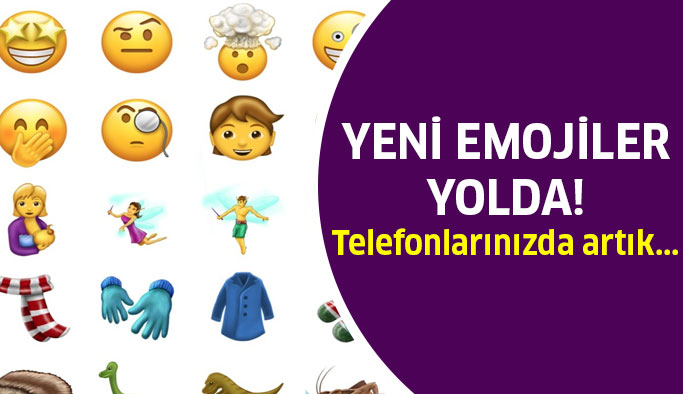 Telefonlara yeni emojiler yolda...