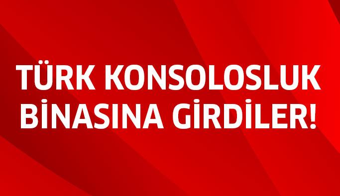 Türk Konsolosluk Binası Alındı!