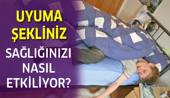 Uyuma şeklinizin sağlığınıza etkisi nedir?