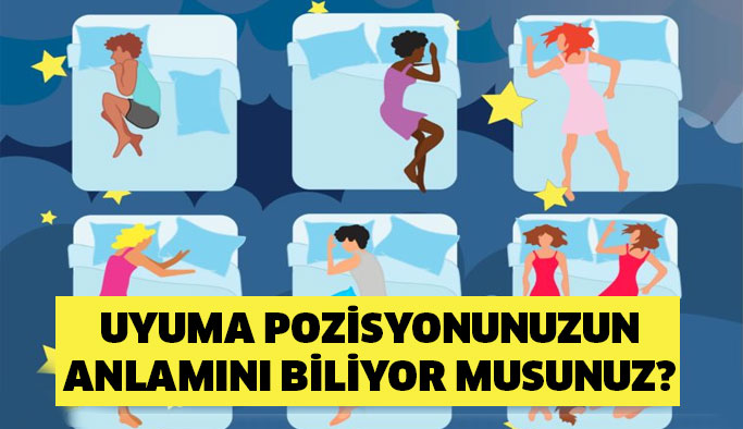 Uyuma Pozisyonunuzun Anlamını Biliyor musunuz?