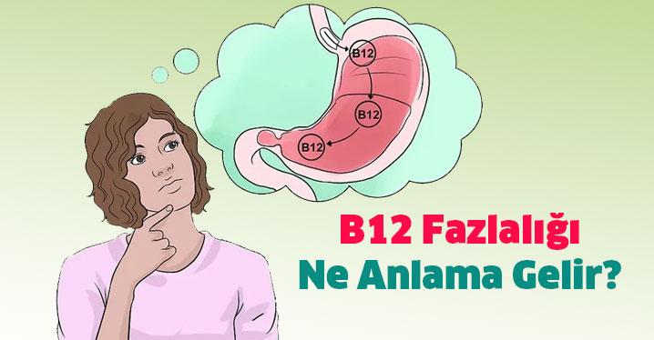 B12 Fazlalığı Ne Anlama Gelir?