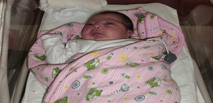 28 Günlük Bebeğe Anjiyo