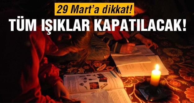 29 Mart'ta Türkiye'de kararacak!