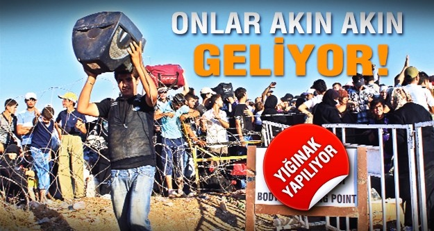 3500 Türkmen Türkiye'ye geldi