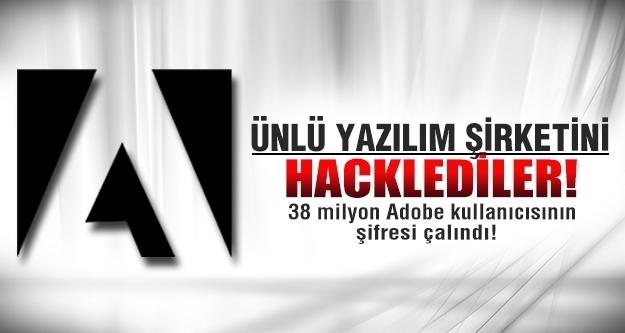 38 milyon Adobe kullanıcısının şifresi çalındı