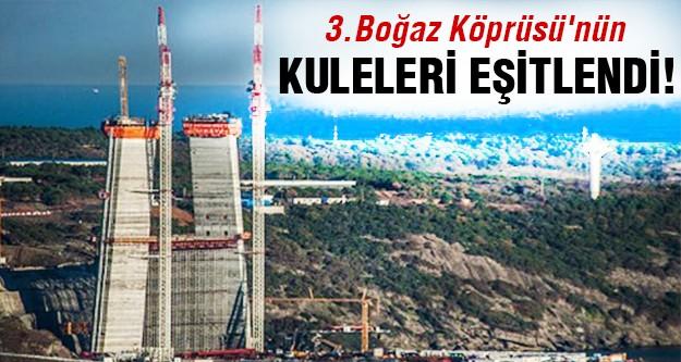 3. Boğaz köprüsünün yüksekliği belirlendi!