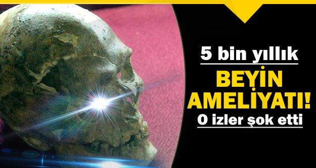 5 bin yıl önce yaşamış insanların..