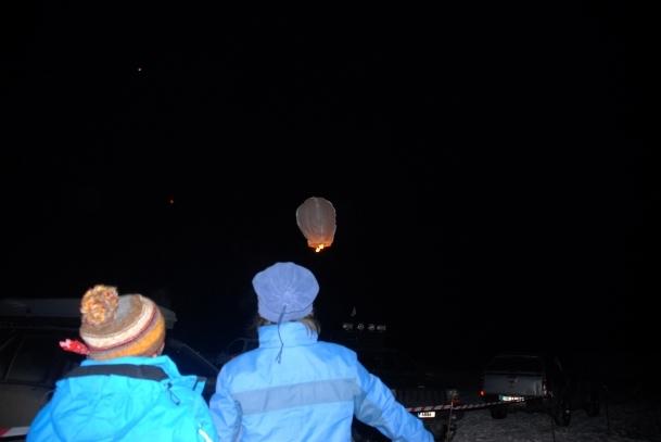 90 bin şehit için 90 dilek balonu