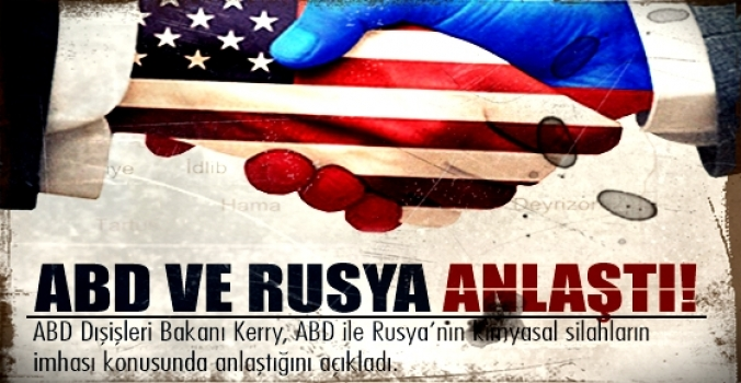 ABD ve Rusya el sıkıştı..