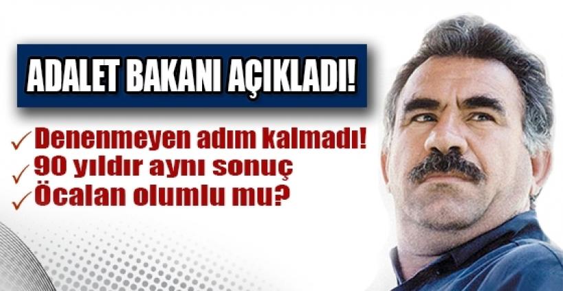 Adalet Bakanı Ergin'den İmralı açıklaması