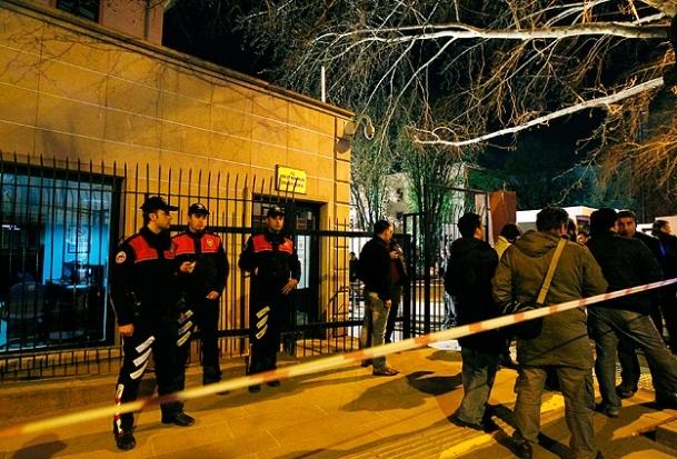 Adalet Bakanlığı ek binasında patlama