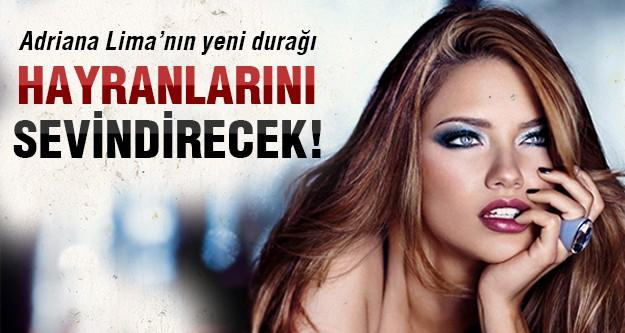 Adriana Lima hayranlarına müjde!