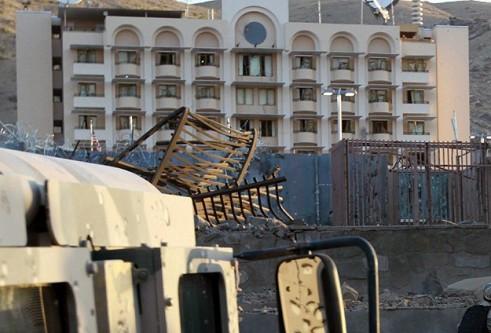Afganistan'da 5 yıldızlı otele saldırı!