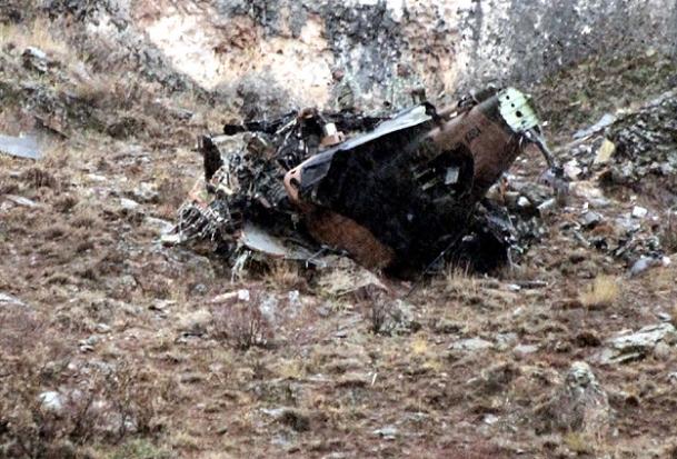 Afganistan'da ISAF helikopteri düştü