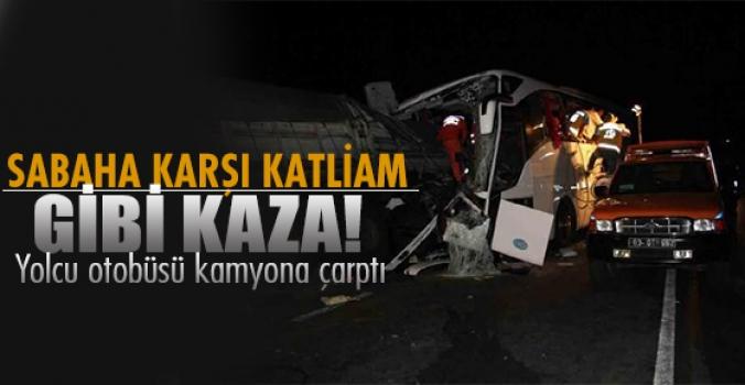Afyonkarahisar'da trafik kazası sonrası can pazarı...