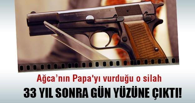 Ağca'nın Papa'yı vurduğu silah sergilenecek!
