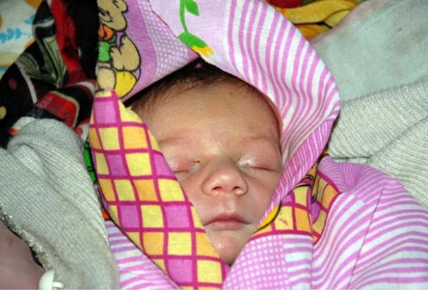 Ağrı'da mucize bebek mutluluğu