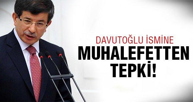 Ahmet Davutoğlu ismi ortalığı karıştırdı!