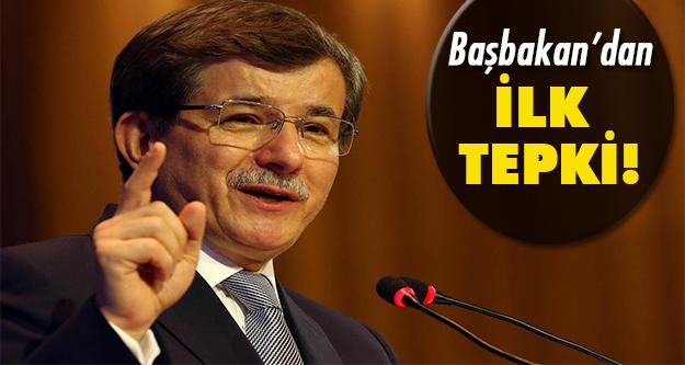 Ahmet Davutoğlu'ndan saldırı açıklaması!
