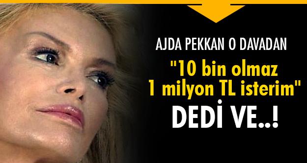 Ajda Pekkan'dan büyük dava!