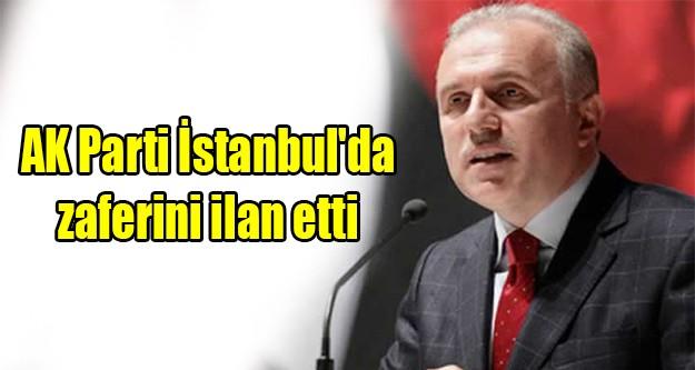 AK Parti İstanbul'da zaferini ilan etti