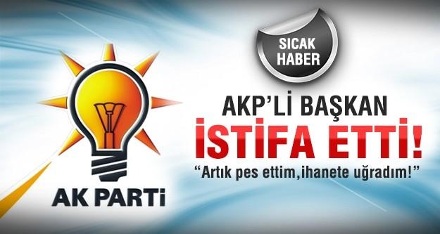 AK Parti Kavaklıdere Belediye Başkanı istifa etti