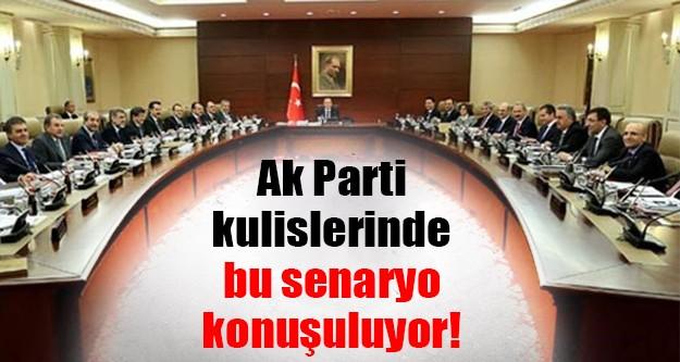 Ak Parti kulislerinde farklı bir iddia!