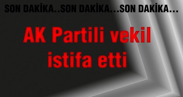 AK Parti milletvekili istifa etti