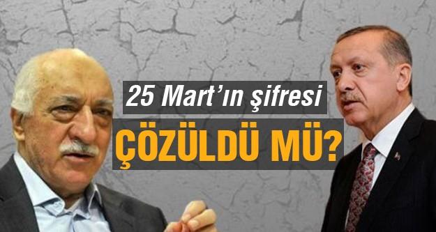Ak Parti ve Cemaat 25 Mart için uzlaştı iddiası!