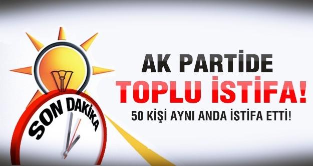Ak Parti'de toplu istifa depremi