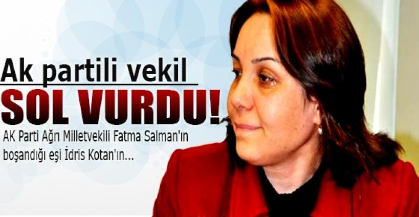 AK Partili Salman sol gösterdi.