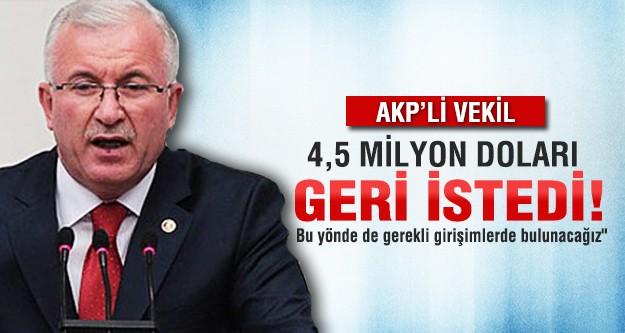 AK Partili Vekil Bürge: 'O parayı geri verin'