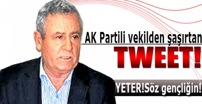 AK Partili vekilden şaşırtan tweet